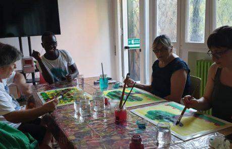 Corso di pittura creativa Gruppo Ingegneria Gestionale