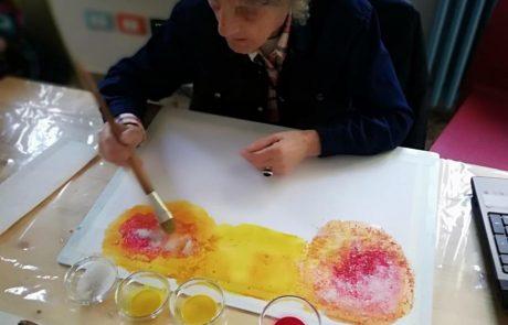 Corso di pittura creativa Gruppo Ingegneria Gestionale Bologna