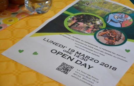 Open Day 2018 Tana Dei Saggi
