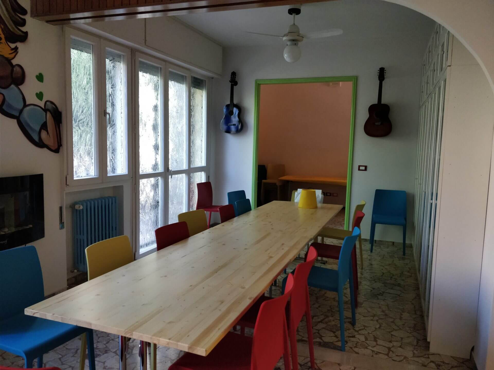 Sala Comune Tana Dei Saggi Bologna