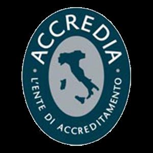 Certificato Accredia Logo